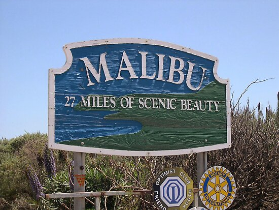 Malibu, California by MsLiz