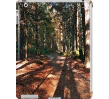 Indian summer forest trail   landscape photography iPad Case/Skin