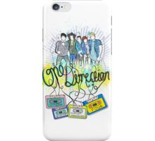 One Direction tape  iPhone Case/Skin
