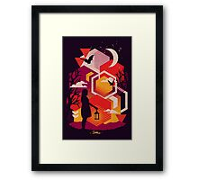 Illuminates Framed Print