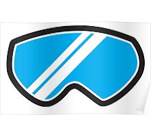 Winter SNOW Goggles  Poster