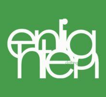 Logo Design white by nlightn3gs