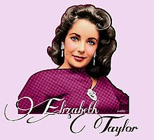 Elizabeth Taylor - Colour by Everett Day
