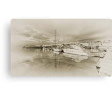 Faded Reflections  Metal Print