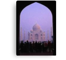 Taj Mahal. Early Morning. Canvas Print