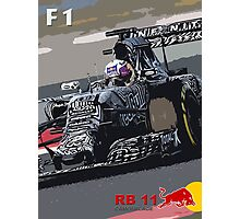 Red Bull RB 11 F1 Photographic Print