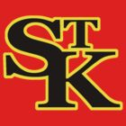 St Kilda Baseball Club Logo T-shirt red by St Kilda Baseball Club