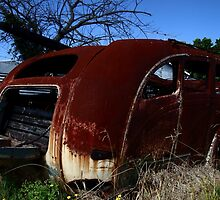 Derelict 6 - The late bus by Anthony Ogle