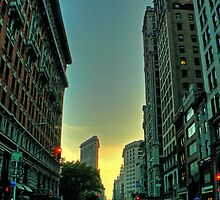 sunset on broadway by AnaLopez