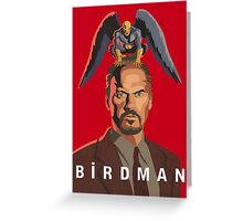 The Birdman Greeting Card