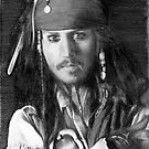 jack sparrow by Samantha Norbury