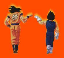 Goku and Vegeta - Dragonball Kids Clothes