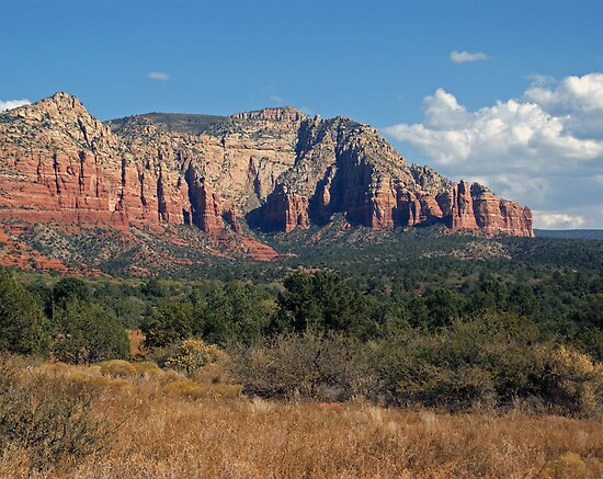 Clouds Over Sedona by Lynda Lehmann