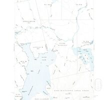 Maine USGS Historical Map North East Carry 460676 1954 62500 by wetdryvac