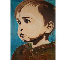 Portrait of an Artist as a Young Boy Photographic Print