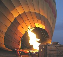 Inflation of balloon by Mel1973