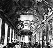 Le Musee du Louvre by Chris Richards