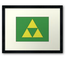 The Triforce Framed Print