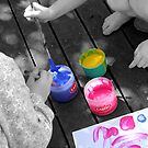 Young Artists at Work by picketty