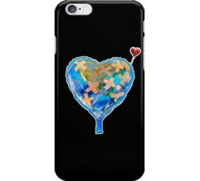 I Love You, Get Well Soon, You Mean The World To Me, Heart, Earth, Street Art iPhone Case/Skin