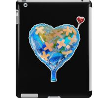 I Love You, Get Well Soon, You Mean The World To Me, Heart, Earth, Street Art iPad Case/Skin