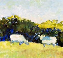 Simple Cows by JKHowsarePearl