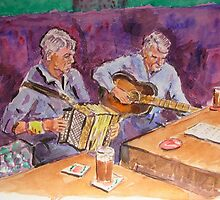 Folk Musicians by BRIAN HOLDEN