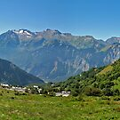 ALPE D&#x27;HUEZ, FRANCE by Eamon Fitzpatrick