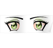 Stylized eyes 3 Poster