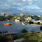 Peggy&#x27;s Cove evening by George Cousins