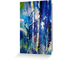 Winter..The Trees...Grateful Greeting Card