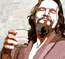 Big Lebowski DUDE Portrait by amillusions