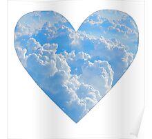 Cloud Heart Poster