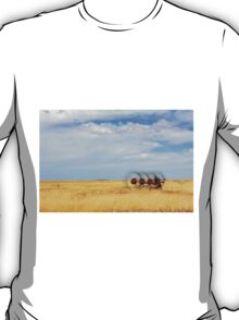 Hay rake - (Farm equipment) Location: Free state, South Africa T-Shirt