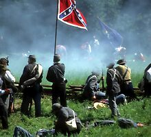 Confederates defend the flag by cascoly