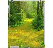 Sunny Summer Forest Glade iPad Case/Skin
