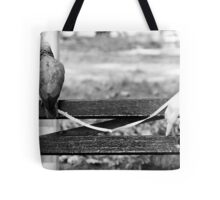 A Bird in the Hand Tote Bag