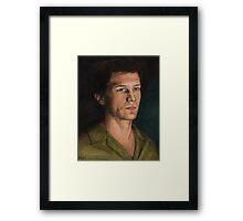 Into the Woods - Riley Finn - BtVS Framed Print