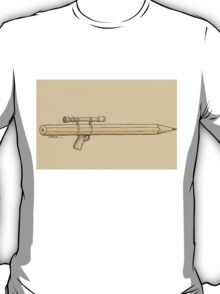 Pen and weapon T-Shirt