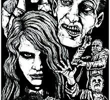 Night Of The Living Dead  by ArtOfOldSchool