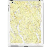 Maine USGS Historical Map Norway 460690 1946 62500 iPad Case/Skin