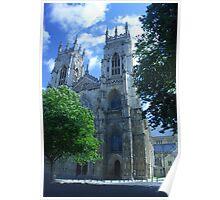 York Minster, York, England Poster