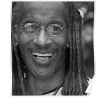 Smile - Portrait in Black and White Poster