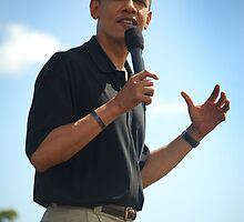 Barack Obama makes a point by Greg Kolio Taylor