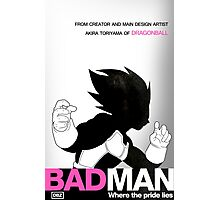 DBZ's BAD MAN Photographic Print