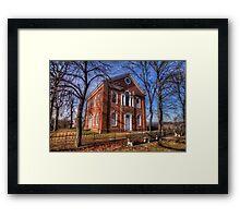Old Church near Reading, PA Framed Print