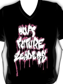 Our Future Leaders Graffiti Pink T-Shirt