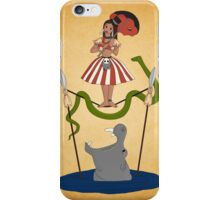 Jungle Cruise vs. Haunted Mansion iPhone Case/Skin