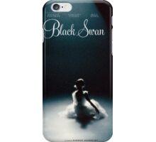 Black Swan - Poster Remake iPhone Case/Skin