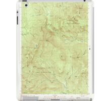 Maine USGS Historical Map Old Speck Mountain 102845 2000 24000 iPad Case/Skin